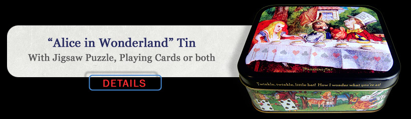 Alice In Wonderland Collector Tin