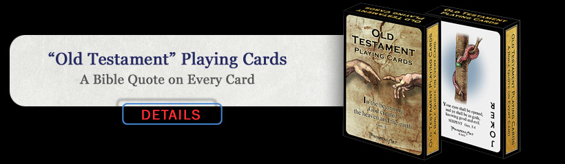 Old Testament Playing Cards